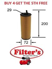 OIL Filter AUDI AUDI Q7 BUG 3.0L 6CYL TURBO DIESEL MPFI 2006 - 2009 BTP