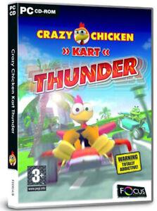 Crazy Chicken Kart Thunder (PC GAME) •SHIPPING •ALWAYS FAST •ALWAYS FREE•