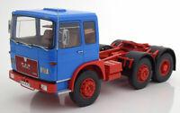 MAN F7 16.304, blau/rot, 1972  - 1:18 ROAD KINGS AUF ACHSE LKW Orient Transporte