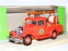 ELIGOR 1084 1934 Ford V8 Pick Up Washington bomberos 1/43