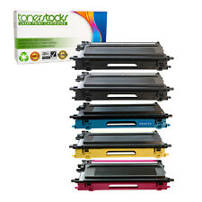 5Pk TN-115 KKCYM SET Toner Cartridge Compatible for Brother HL-4040CN HL-4070CDW