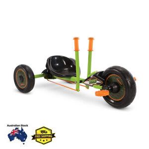 Huffy Green Machine Mini - 10 Inch Kids Drift Tricycle Bike Toy Scooter