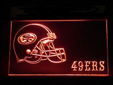 J131R San Francisco 49ers Helmet For Display Decor Light Sign