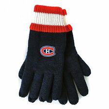 NHL Montreal Canadiens Habs Gertex Insulated Thermal Gloves One-Size OSFA