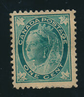Canada Stamp Scott #67, Mint Hinged, Hinge Remnants