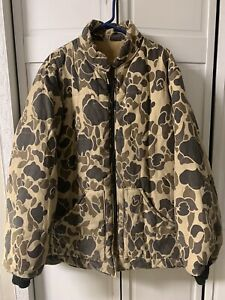 Vintage Walls Blizzard Pruf Jacket Mens XLT Duck Camo Hunting USA Reversible