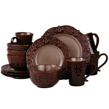 Elama El-Salia16 Elama&Rsquo;S Salia 16 Piece Stoneware Dinnerware Set