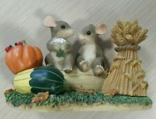 """Fitz And Floyd Charming Tails """"Harvest Time Honeys� Figure"""