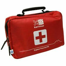 Karrimor Unisex Advanced First Aid Kit Large Pack of 55 items RED Case A363-5