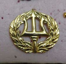 U.S.NAVY, COMMAND ASHORE,PROJECT MANAGER   QUALIFICATION BADGE, LARGE