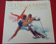 Hard Cover Book Golden Moments ! A Collection of United States 1984 Olympics
