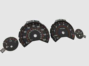 BMW F3X F30 F31 F32 F33 F34 F36 Speedometer dials 3D MPH OEM GAUGES CLUSTER
