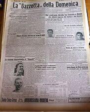 GAZZETTA DELLO SPORT  1942