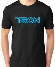 tron legacy' Movie Essential T-Shirt by ferdeyaw Black unisex Cotton size S-3XL