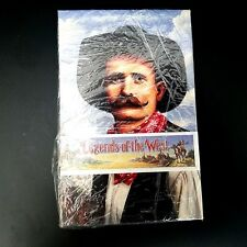 Vintage Legends Of The West Set of 20 Uncirculated 19 Cent Post Cards Lot of 2