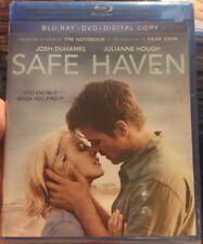 SAFE HAVEN Blu-ray + DVD + Digital Josh Duhamel Julianne Hough Nicholas Sparks