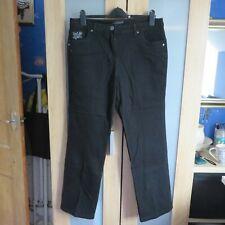 David Emanuel Black jeans size 16  David Emanuel Black jeans with silver thread