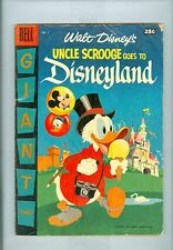 Dell Giant Uncle Scrooge Goes To Disneyland #1 Vgfn Strobl, Barks, Murry, Donald