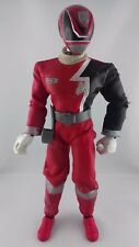 Figurine Power Rangers SPD rouge sonore 30cm