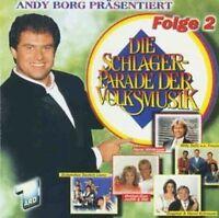 Schlagerparade der Volksmusik 2-Andy Borg präsentiert (1996) Hansi Hinter.. [CD]