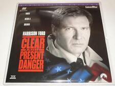 LaserDisc ~ Clear and Present Danger ~ NTSC ~ Double Disc ~ Widescreen~Paramount