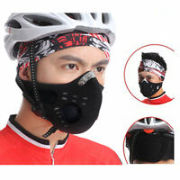 Anti Dust Cycling Mask Breathing Bicycle Bike Racing Half Face Filter respirator