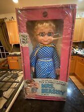 Rare 1966 Talking Mrs. Beasley Doll Nrfb By Mattel Sealed Never Played With