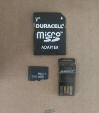 Duracell 3-in-1 Kit Mirco SD 32GB: 1 microSDHC, 1 USB Memory Card