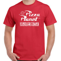 Pizza Planet T-Shirt, Mens Toy Story Unisex Top
