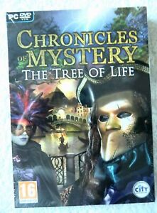 39713 - Chronicles Of Mystery The Tree Of Life [NEW / SEALED] - PC (2010) Window
