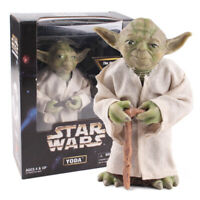 Star Wars Jedi Knight Master Yoda PVC Action Figure Collectible Model Toy