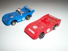 POLISTIL Vintage Slot Cars Made In Italy #2 Good Year Campari #5 Shell Gitanes