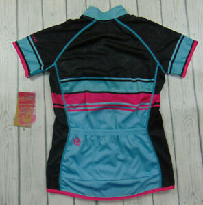 New Canari Women's Jersey Cycling Bike Medium Short Sleeve