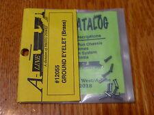 A-Line HO #12055 Ground Eyelet (Brass) 20pcs.