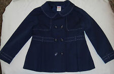 Gymboree navy blue trench coat 4T 5T 4 5 jacket trenchcoat worn 1X uniform
