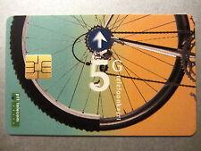 5 G telefoonkaart carta telefonica prepagata PTT Telecom motivo Chip bicicletta carta 1995