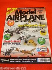 MODEL AIRPLANE INT - DAS FLIEGENDE AUGE - APRIL 2011 # 69