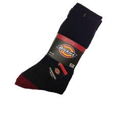 Dickies Gruesa De Invierno SOCKS 5 Pack Uso Cojín Redondo calcetines puntera de acero zapatos / botas