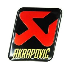 AKRAPOVIC Motorcycle Heat Resistant Exhaust Sticker AVT Aluminum Racing Decal