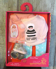 "AG Our Generation Winter Warm Days Outfit Holiday Set 18"" Girl Doll NEW!"