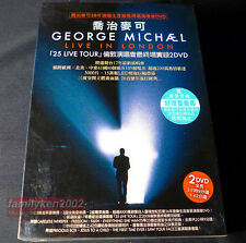 Taiwan Limited DVD w/Slipcase NEW! George Michael 2009 LIVE IN LONDON best hits