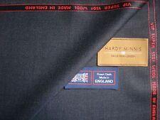 100% Lana Super 150's < Hardy Minnis > satisfaciendo Tela Hecho en Inglaterra -3.4 M.