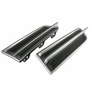 ABS Gitter Nebelscheinwerfergitter Abdeckung passt für Cadillac XTS 2013-17 ER