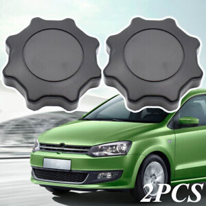 2pcs Black Seat Adjustment Recliner Knob Handle For VW Golf Passat B5 Polo Caddy