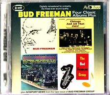 BUD FREEMAN -4 Classic LP Albums On 2-CD (Chicago & All That Jazz/Group/Hi-Fi)