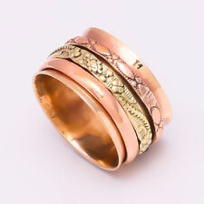Solid Copper Brass Spinner Ring Jewelry Meditation ring statement All Size AS-20