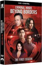 Criminal Minds Beyond Borders Season 1 Series One First New Region 1 DVD Box Set
