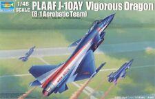 Trumpeter 1/48 PLAAF J-10AY Vigorous Dragon (8.1 Aerobatic Team) # 02857