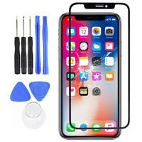 KQ_ Outer Front Replacement Glass Screen for iPhone X/XR/XS/11 Pro Max Repair Ki