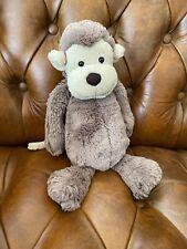 JellyCat despego Mono marrón gran condición superior de 30cm a los pies Coleccionable 🐒